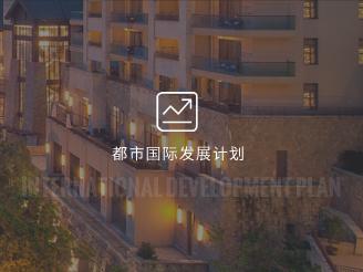 都市国际发展计划中高档酒店加盟计划